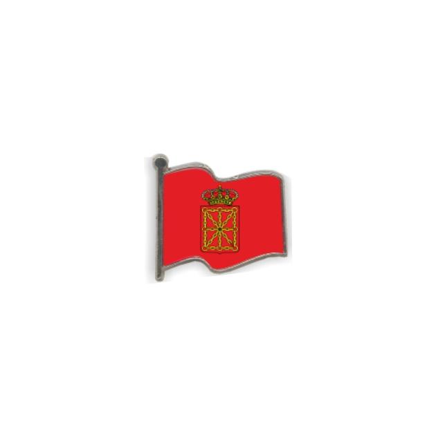 PIN GOTA RESINA NAVARRA BANDERA ONDEANTE SOUVENIR 401 426