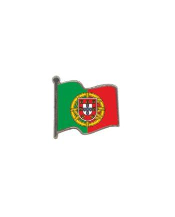 PIN GOTA RESINA PORTUGAL BANDERA ONDEANTE SOUVENIR 401 431