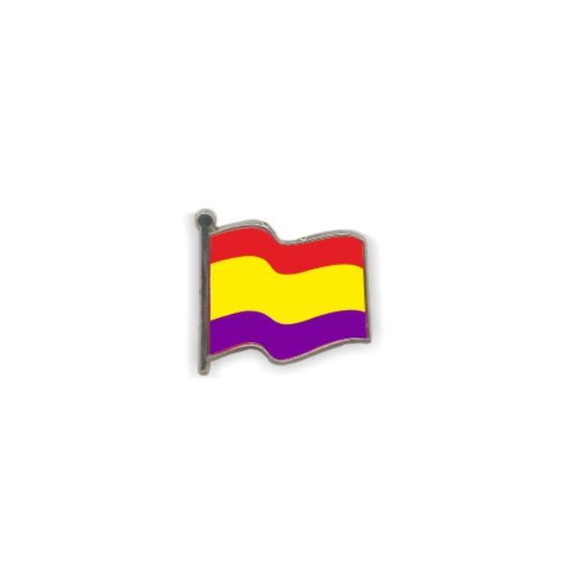 PIN GOTA RESINA REPUBLICA BANDERA ONDEANTE SOUVENIR 401 403