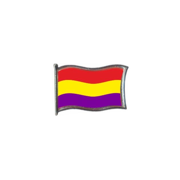 PIN GOTA RESINA REPUBLICA ESCUDO BANDERA GR ONDEANTE SOUVENIR 401 453