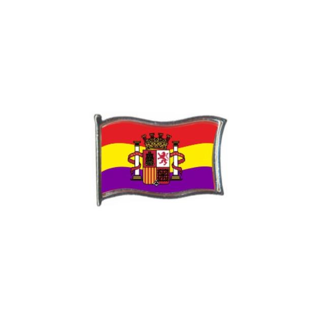 PIN GOTA RESINA REPUBLICA ESCUDO BANDERA GR ONDEANTE SOUVENIR 401 454
