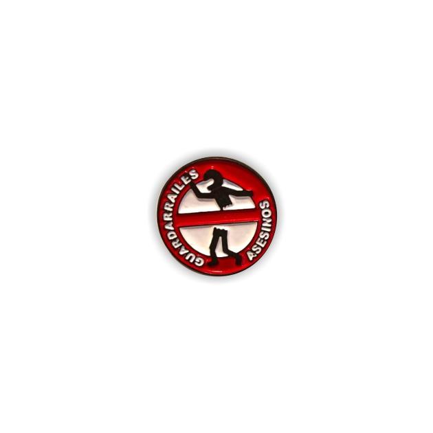 PIN GUARDARRAILES ASESINOS SOUVENIR 401 625 1
