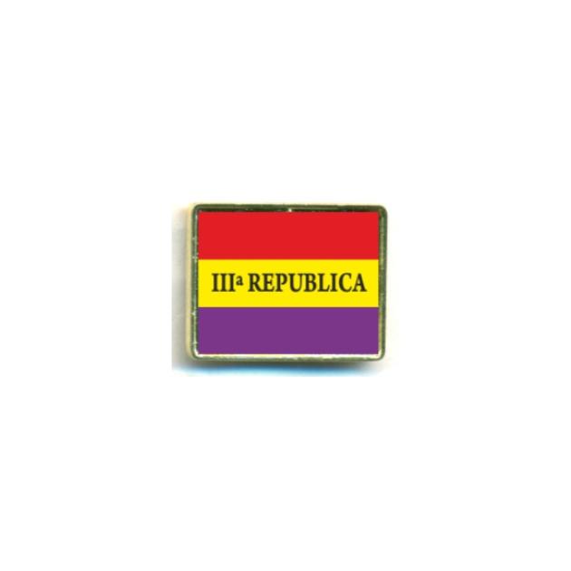 PIN REPUBLICA BANDERA III REPUBLICA SOUVENIR 401 110