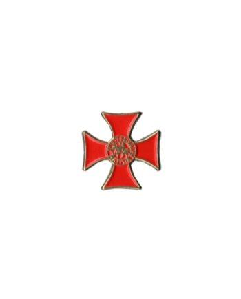 PIN TEMPLARIO CRUZ SELLO 401 365 1