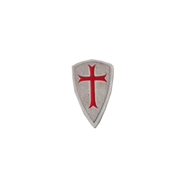 PIN TEMPLARIO ESCUDO CRUZ 401 361 1