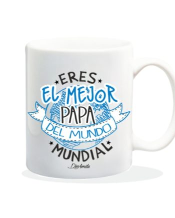 TAZA ERES EL MEJOR PAPA DEL MUNDO MUNDIAL 840 3 1