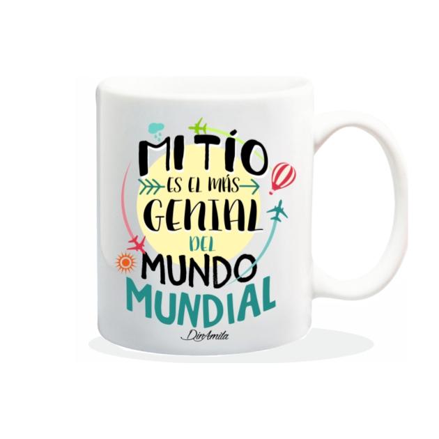 TAZA MI TIO ES EL MAS GENIAL DEL MUNDO MUNDIAL 840 69 1