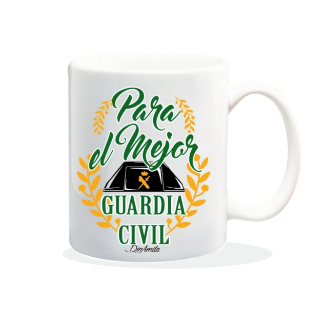TAZA PARA EL MEJOR GUARDIA CIVIL 840 60 1