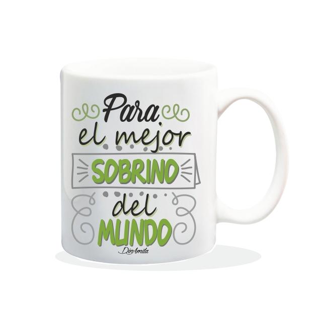 TAZA PARA EL MEJOR SOBRINO DEL MUNDO 840 77 1