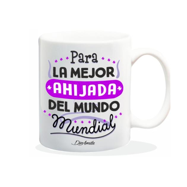 TAZA PARA LA MEJOR AHIJADA DEL MUNDO 840 86 1