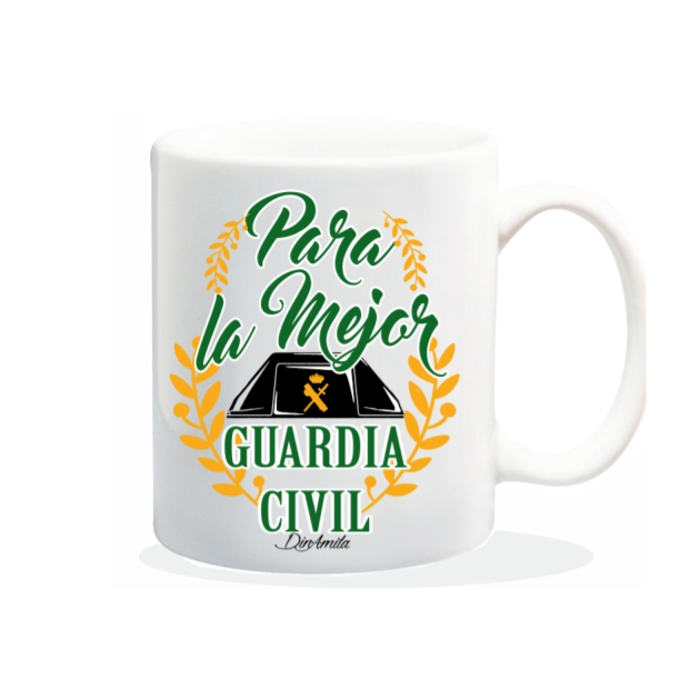 TAZA PARA LA MEJOR GUARDIA CIVIL 840 61 1