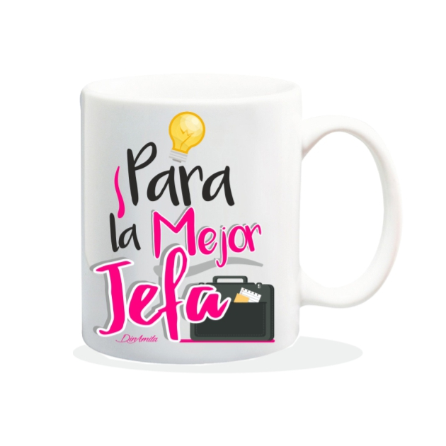 TAZA PARA LA MEJOR JEFA 840 49 1