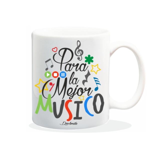 TAZA PARA LA MEJOR MUSICO 840 63 1