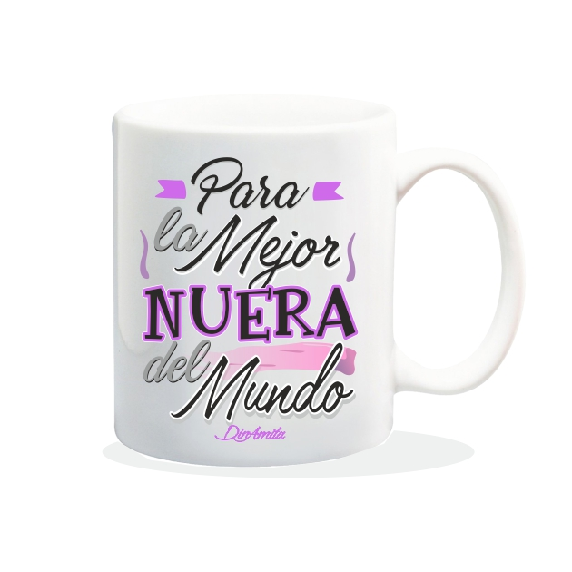 TAZA PARA LA MEJOR NERA DEL MUNDO 840 83 1