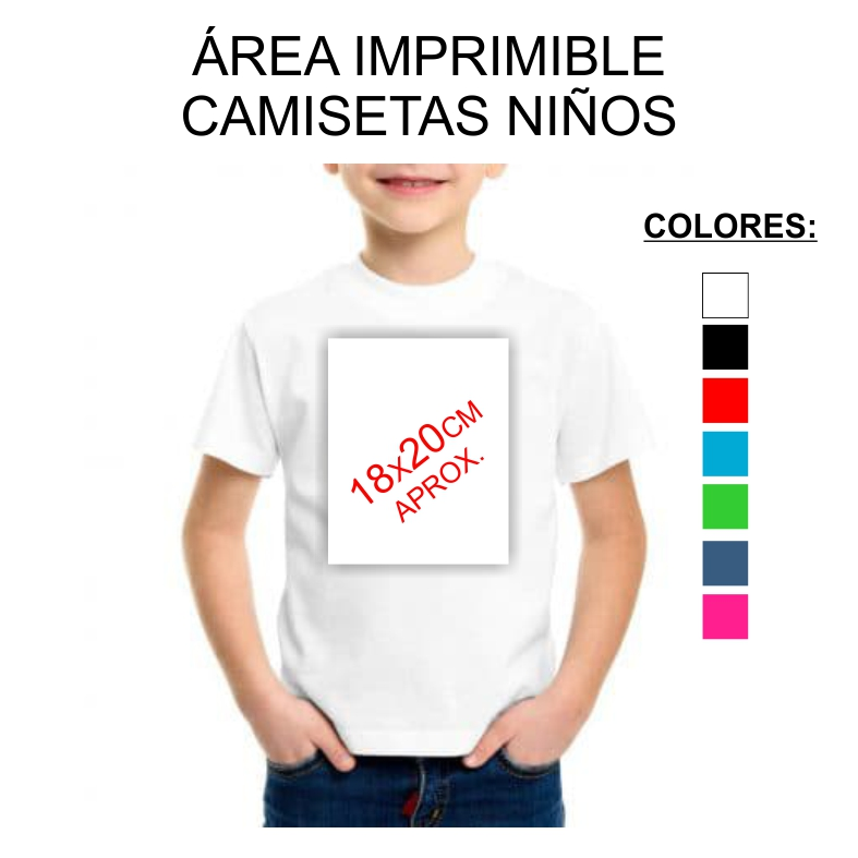 CAMISETAS NINO